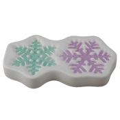 2015 Snowflake Mold - 9 x 5 in.