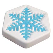 2017 Snowflake Mold December - 7 x 6 inch
