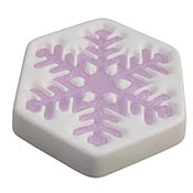 2017 Snowflake Mold January - 7 x 6 inch