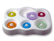 Simple Round Beads Mold - 7 x 5.25 in.
