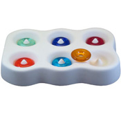 Small Ring Beads Mold - 4 x 6 x 1 in.
