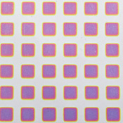 Dicro Slide - Square - Cool color shift - 3-1/4 x 8 in. sheet
