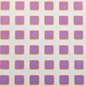 Dicro Slide - Square - Warm color shift - 3-1/4 x 8 in. sheet
