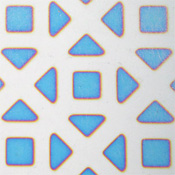 Dicro Slide - Tiles - Cool color shift - 3-1/4 x 8 in. sheet