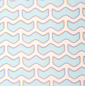 Dicro Slide - Wings - Cool color shift - 3-1/4 x 8 in. sheet