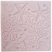 Sea Life Texture Tile - 12 x 12 in.