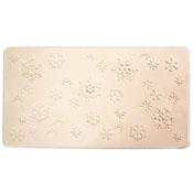 Snowflakes Texture Tile - 7 x 13 in.