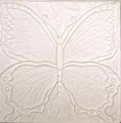 Butterfly Texture Square Mold - 10 in.