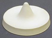3.5 x 2 in. Small Flower Cone Ceramic Mold