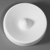 3 x 1 in. Small Flower Slump / Hump Ceramic Mold