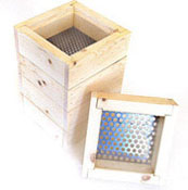 Frit Sorter/Sifter (sorts into the 5 different trays)