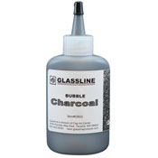 Charcoal Glassline Bubble Paint (2 oz.)