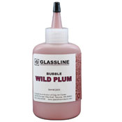 Wild Plum Glassline Bubble Paint (2 oz.)