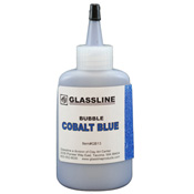 Cobalt Blue Glassline Bubble Paint (2 oz.)