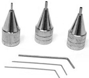Glassline Tip Set (one each fine, medium, bold)