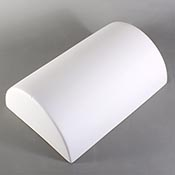 Cylinder Drape Mold - 9 x 6 x 3 in.