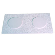 Textured Coaster Drape Mold - 6 x 12.5 in.