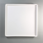 12 x 12 in. Patty Gray Tray