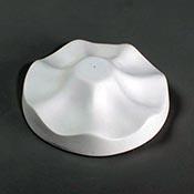 Small Ruffle Drape Mold - 4.5 dia x 1.25 in.