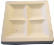 11-1/2 in. Square Appetizer Tray Slumping Mold