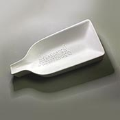Season's Greetings Bottle Slump Mold - 12.5 x 5.5 in.