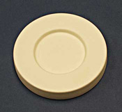 6.5 in. Coaster Mold with 1.5 in. Rim
