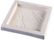 Dragonfly Tile Glass Casting Mold - 8 x 8 in.