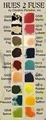 Hues to Fuse Full Kit (16 colors, black, white, glass media, bottle & tip)