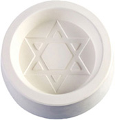 Star of David Glass Casting Mold - 5.25 x 5.25 in.