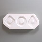 Geometric Hoops - 9 x 3.75 in.