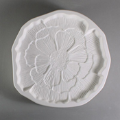 Patty Gray Flower Mold - 9.5 in.