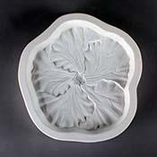 Hibiscus Frit Cast Mold -7.5 x 8 in.