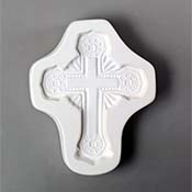 Ornate Cross Mold - 5.75 x 4.5 in.