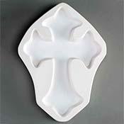Medium Cross Mold - 7.5 x 10 in.