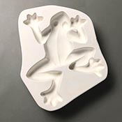 Tree Frog Frit Casting Mold - 8 x 10 in.