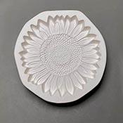 Sunflower Frit Casting Mold - 9.5 in.