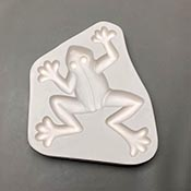 Frog Frit Casting Mold - 9 x 10.25 in.