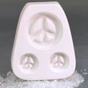 Holey Peace Trio - 4 1/2 x 5 in.