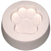 Paw Mold - 3.5 in.