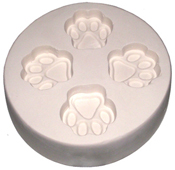4 Print Paw Mold - 5 in.