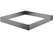8 in Square Stainless Steel Ring Mold (1 in. tall - use with FUS SM8)