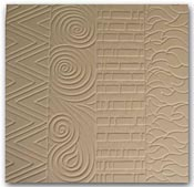 Hot Pattern Ceramic Texture Mold 9 x 9 in. Tile