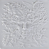Lady of the Woods Mold - 7 in.