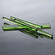 Portland Green Boromax 20 in. Rod 33 COE (1/4 lb. minimum order)