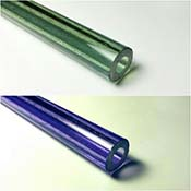 Blue Medusa (CFL) A-Grade Tube 33 COE (1/4 lb. minimum order)