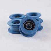 Blue Pulley Grommets (5) for Taurus II.2 Saw