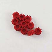 Red Gear Grommets (10) for Taurus II.2 Saw