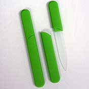 Lime Green Nail File - InCase Design