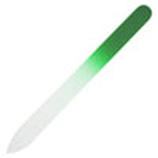 Lime Green Nail File Medium 5-3/8 x 1/2 in. (pack of 5)