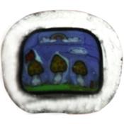 Landscape 3 Mushroom Murrini Borosilicate 33 COE (4 Gram minimum)